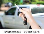 car key. auto dealership... | Shutterstock . vector #194857376