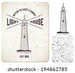 vector. vintage label ... | Shutterstock .eps vector #194862785