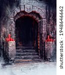 Entrance Way To A Castle...