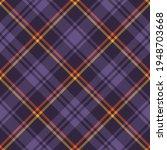 plaid pattern in purple  orange ...   Shutterstock .eps vector #1948703668