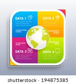 infographic abstract digital... | Shutterstock .eps vector #194875385