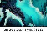 glitch art digital vector... | Shutterstock .eps vector #1948776112