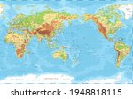 world map   pacific china asia... | Shutterstock .eps vector #1948818115