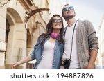 City Life Hipster Couple  - Fine Art prints