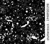 seamless monochrome pattern of... | Shutterstock .eps vector #1948930198