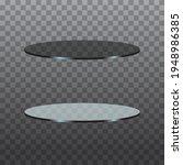 circle glass table black dark... | Shutterstock .eps vector #1948986385