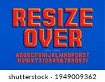 pixel vector alphabet design ...   Shutterstock .eps vector #1949009362