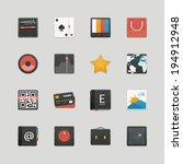 set of user interface icons....