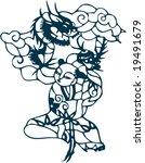 vector of artistic traditional... | Shutterstock .eps vector #19491679