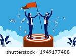 business target met   team of... | Shutterstock .eps vector #1949177488