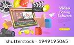 3dvector conceptual... | Shutterstock .eps vector #1949195065