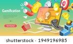 3d conceptual illustration of... | Shutterstock . vector #1949196985