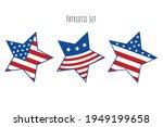 patriotic colors star set for t ...   Shutterstock .eps vector #1949199658