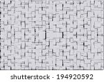 abstract geometric shapes... | Shutterstock .eps vector #194920592