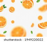 orange fruits falling on... | Shutterstock .eps vector #1949220022