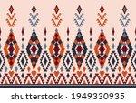 beautiful ethnic abstract ikat...   Shutterstock .eps vector #1949330935