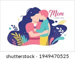 happy mother's day greeting...   Shutterstock .eps vector #1949470525