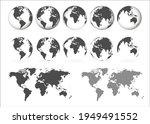 planet earth. earth day. the... | Shutterstock .eps vector #1949491552