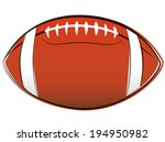 vector illustration of american ... | Shutterstock .eps vector #194950982