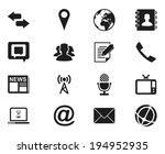 business icons. vector... | Shutterstock .eps vector #194952935
