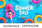 summer sale poster and banner... | Shutterstock .eps vector #1949541508