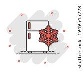 fridge refrigerator icon in...   Shutterstock .eps vector #1949545228