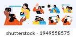 business concept illustrations. ... | Shutterstock .eps vector #1949558575