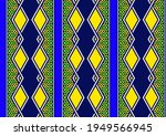 african fashion seamless...   Shutterstock .eps vector #1949566945