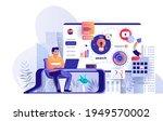 businessman making business...   Shutterstock .eps vector #1949570002