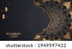 ramadan kareem in luxury style... | Shutterstock .eps vector #1949597422