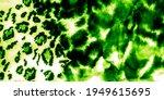 Green Leopard Tiger Print. Mint ...