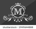 stylized letter m of the latin...   Shutterstock .eps vector #1949644888