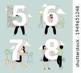 flat design vector figure... | Shutterstock .eps vector #1949651248