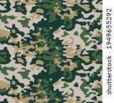 green camouflage seamless... | Shutterstock .eps vector #1949655292
