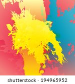 grunge background  | Shutterstock .eps vector #194965952