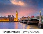London City Skyline With Big...