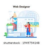 web design concept. presenting...