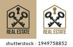 real estate vector logo  realty ...   Shutterstock .eps vector #1949758852