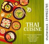 thai food menu  thailand... | Shutterstock .eps vector #1949822785