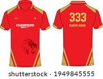 sports jersey t shirt design...   Shutterstock .eps vector #1949845555
