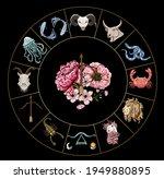 sagittarius of astrology design.... | Shutterstock .eps vector #1949880895