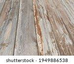 Background Of Flaky Wood....