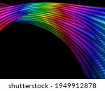 Abstract Rainbow Colored...