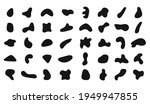 blob shape. abstract irregular... | Shutterstock .eps vector #1949947855