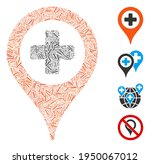 line collage clinic pointer... | Shutterstock .eps vector #1950067012