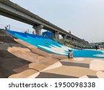 Long Slide In Riverside Park  ...