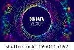big data iot background. big...   Shutterstock .eps vector #1950115162