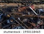 Scrap Metal Waste Is Stored In...