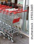Supermarket Shopping Carts...