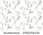 watercolor drawing seamless... | Shutterstock . vector #1950256135